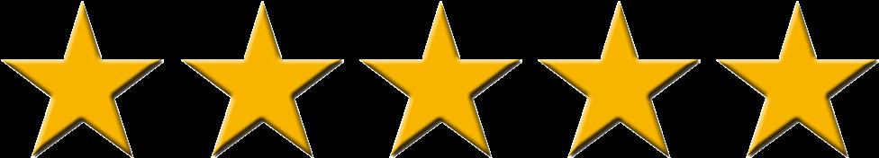5 Stars Google Reviews