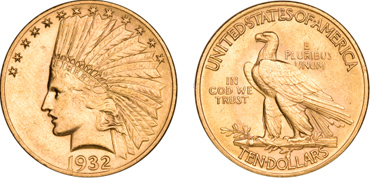$10 Saint-Gaudens Indian Eagle