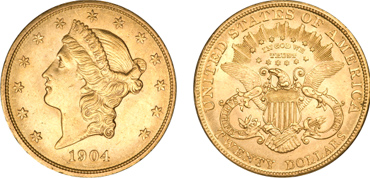 $20 Liberty Double Eagle