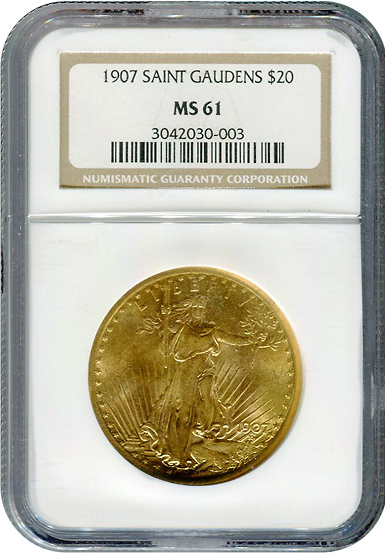 NGC Certified Gold Coins