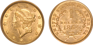 Liberty Gold Dollar Type I