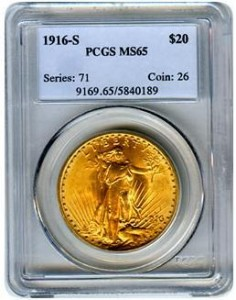 PCGS Gold Coin