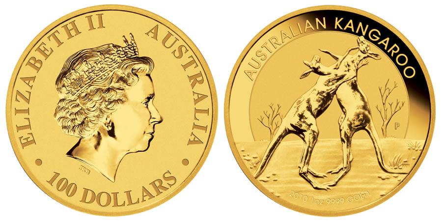 Austrian Kangaroo Gold Coin