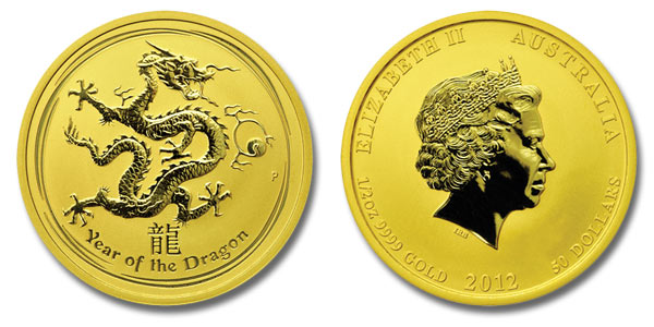 Australian Dragon Gold Coin