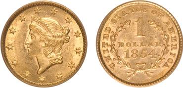 Liberty Gold Dollar Type I