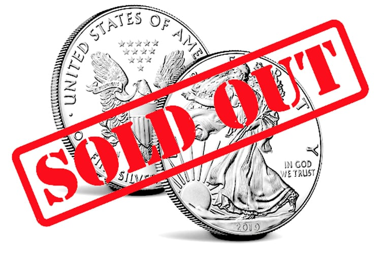 Silver Price Hammered While Demand Skyrockets and Mint Sells Out