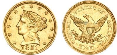 $2.50 Liberty Gold Coin