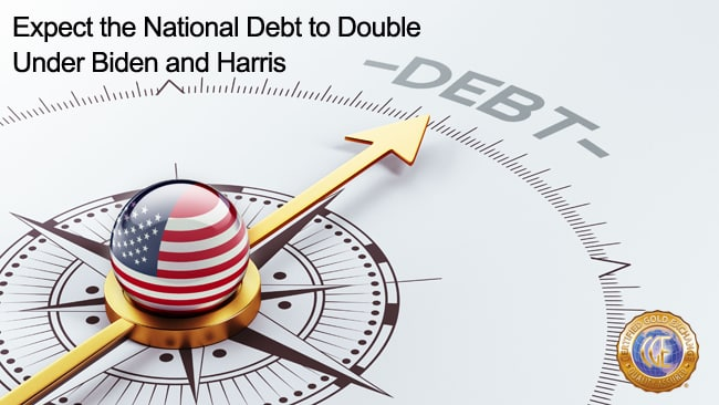 Expect the National Debt to Double Under Biden and Harris
